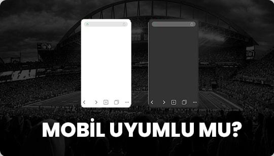 mobil bahis sitelerine örnek tarayıcı görünümü.